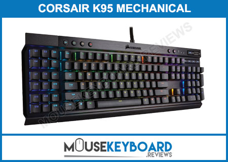 Corsair K95 Cherry MX Red Gaming Keyboard Review 2018