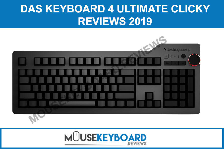 Das Keyboard 4 Ultimate Clicky gaming mouse reviews