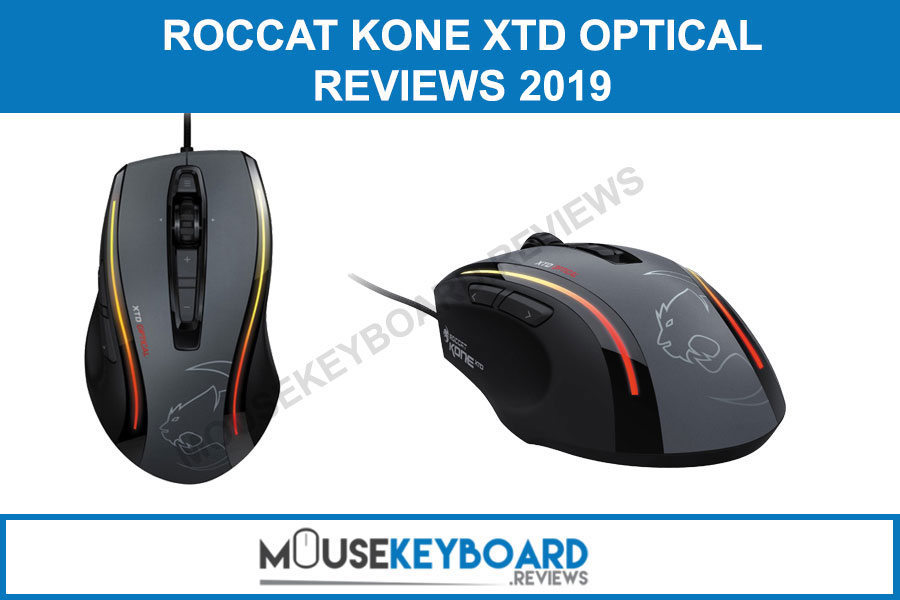 ROCCAT KONE XTD Optical Gaming Mouse reviews