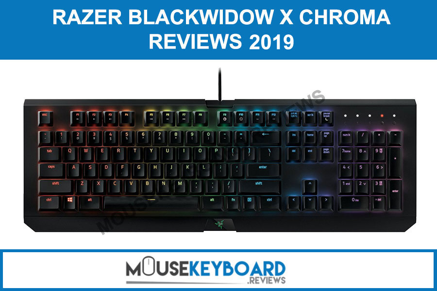 Razer BlackWidow X Chroma Gaming Keyboard Reviews