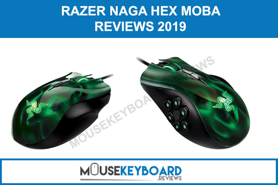 Razer Naga Hex MOBA Gaming Mouse reviews