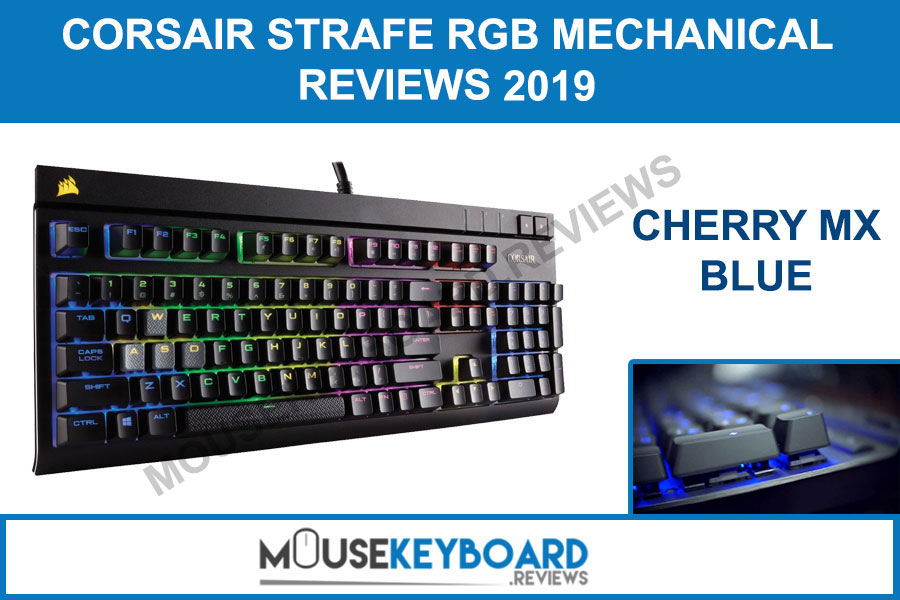 CORSAIR STRAFE Blue Gaming Keyboard Reviews