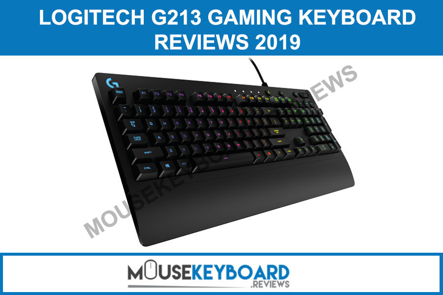 Logitech G213 Gaming Keyboard Reviews