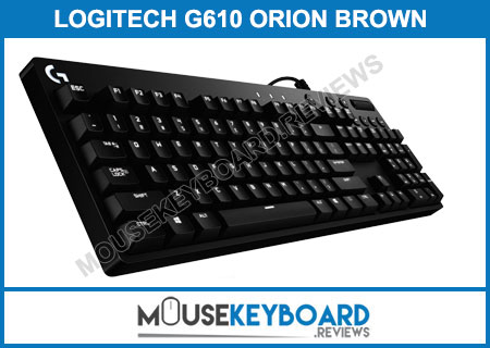 Logitech G610 Orion Brown Gaming Keyboard Review 2018