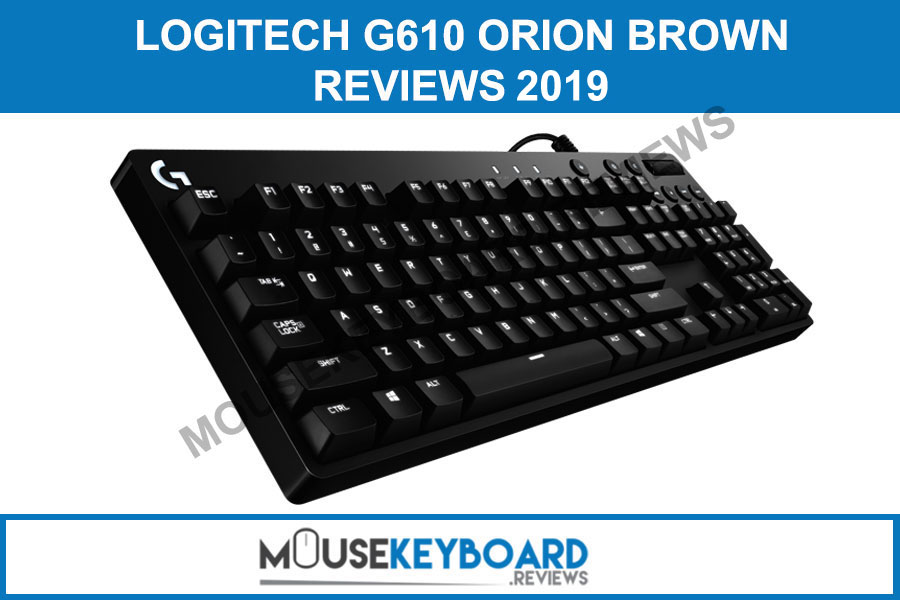 Logitech G610 Orion Brown Gaming Keyboard Reviews