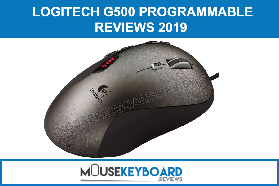 Logitech G500 Programmable Gaming Mouse Reviews 2019