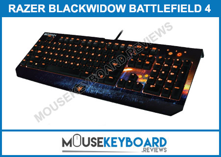 Razer BlackWidow Battlefield 4 Gaming Keyboard Review 2019
